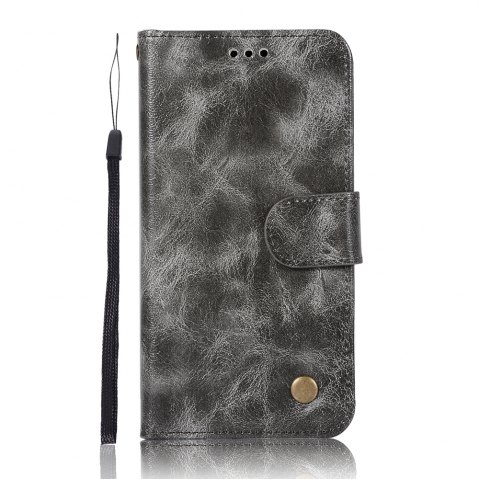 Outfits Upscale Retro Pattern Flip PU Leather Wallet Case for Huawei Honor 6C