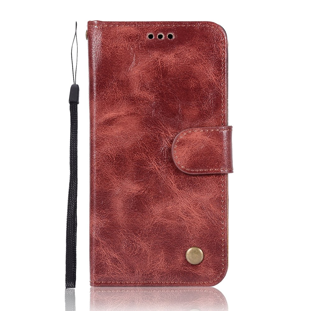 Latest Upscale Retro Pattern Flip PU Leather Wallet Case for Huawei Honor 6C