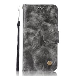 Upscale Retro Pattern Flip PU Leather Wallet Case for Xiaomi Redmi 4 -
