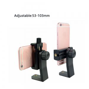 CB1 Smartphone Tripod Adapter Cell Phone Holder Mount Adapter for iPhone Samsung  and all Phones -