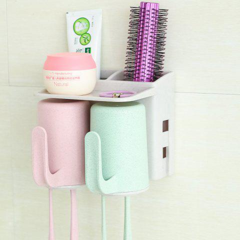 Hot Bathroom Accessories Suction Cup Toothbrush Toothpaste Tooth Mug Holder
