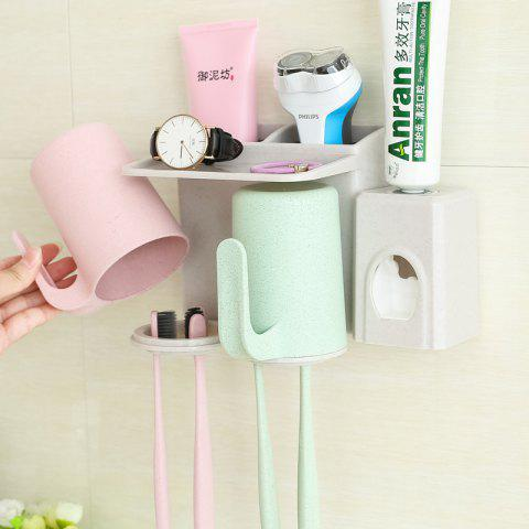 Shop Bathroom Accessories Suction Cup Toothbrush Toothpaste Tooth Mug Holder