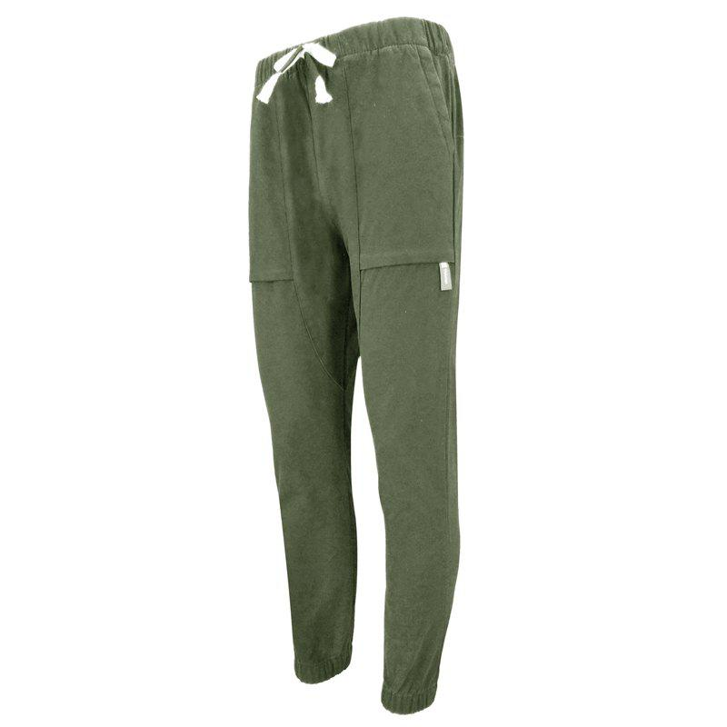 Sale Men'S Casual Personality and Comfortable Fashion Movement Harlan Feet Slim Pants Casual Pants