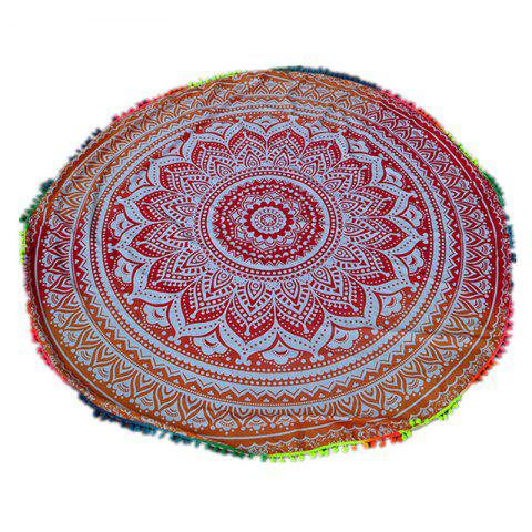Hot Circular Totems Color Ball Beach Towel