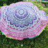 Circular Totems Color Ball Beach Towel -