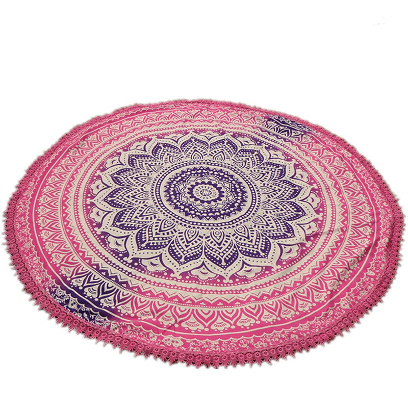 New Fashion Circular Lace Beach Towel