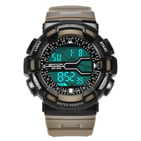 Unique Men Large Dial Waterproof Personalized Electronic Fashion Outdoor Sports Watches