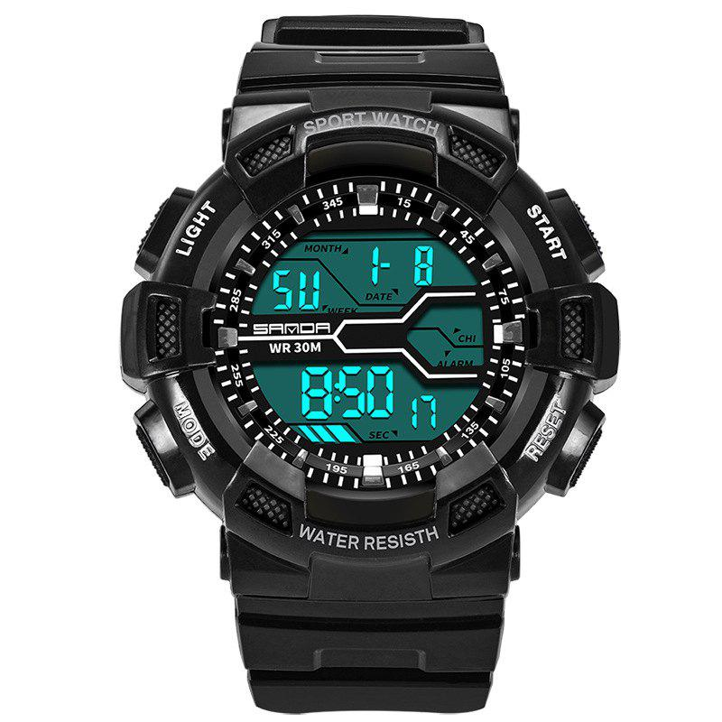 Chic Men Large Dial Waterproof Personalized Electronic Fashion Outdoor Sports Watches