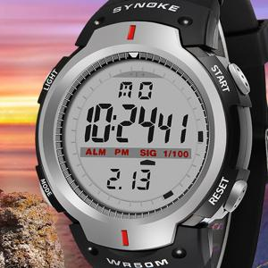 Sports Outdoor Waterproof Men Digital  Watch -