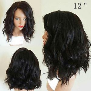 130% Short Bob Wigs Glueless Lace Front Wigs for Black Women -