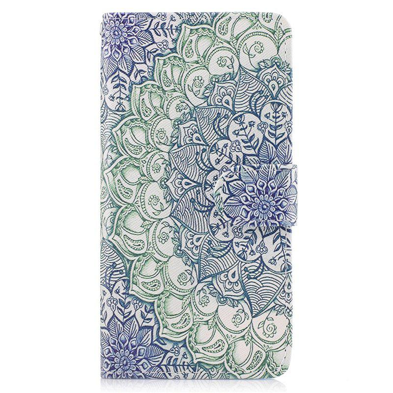Sale Dog Painting Card Lanyard Pu Leather Cover for LG G6