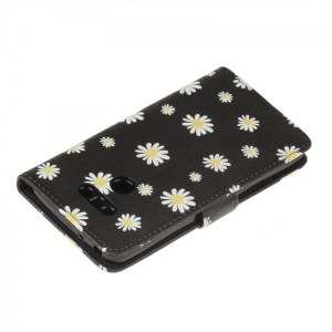 Dandelion Painting Card Lanyard Pu Leather Cover for LG G6 -