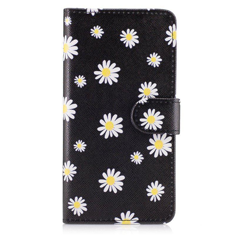 Sale Dandelion Painting Card Lanyard Pu Leather Cover for LG G6