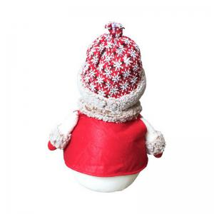 1pc Good Quality Christmas Snowman Ornament S-size -