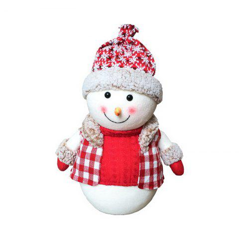 Latest 1pc Good Quality Christmas Snowman Ornament S-size