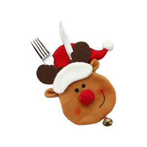 3pcs Good Quality Christmas Knife And Fork Bags -
