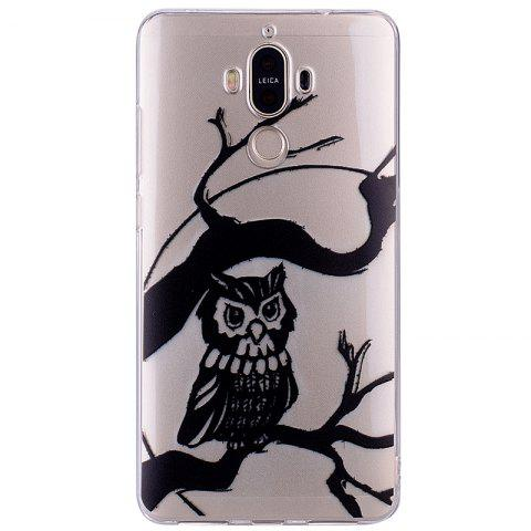 Best Owl Pattern Soft TPU Clear Case for Huawei Mate 9