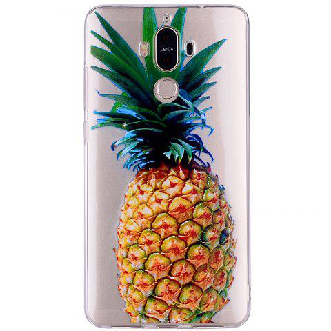 Shop Pineapple Pattern Soft TPU Clear Case for Huawei Mate 9