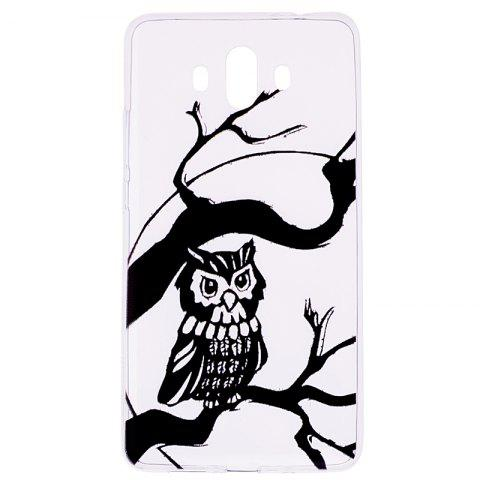 New Owl Pattern Soft TPU Clear Case for Huawei Mate 10