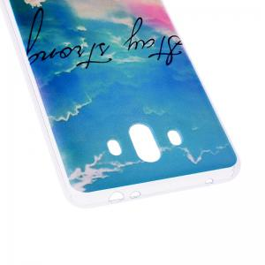 Heaven Pineapple Pattern Soft TPU Clear Case for Huawei Mate 10 -