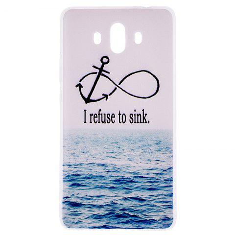 Store Sea Pattern Soft TPU Clear Case for Huawei Mate 10