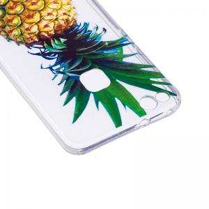 Pineapple Pattern Soft TPU Clear Case for Huawei P10 Lite -