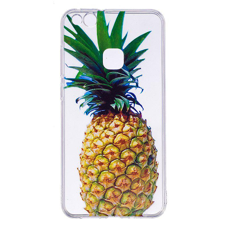 Hot Pineapple Pattern Soft TPU Clear Case for Huawei P10 Lite