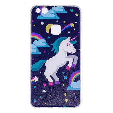 Fancy Pegasus Pattern Soft TPU Clear Case for Huawei P10 Lite