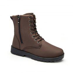 Autumn and Winter Fashion  High Top Men's Boots -