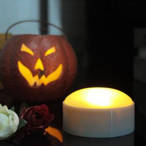 Set of Two Pumpkin Lights with remote White -
