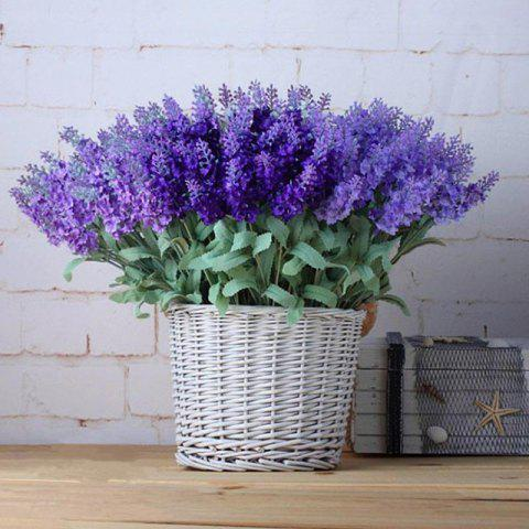Trendy Artificial plant Lavender fake flowers