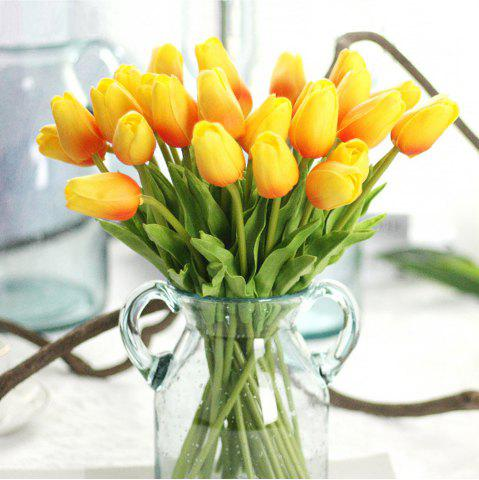Fashion Anti-True Flower Tulip Fake Flowers (Trumpet)4