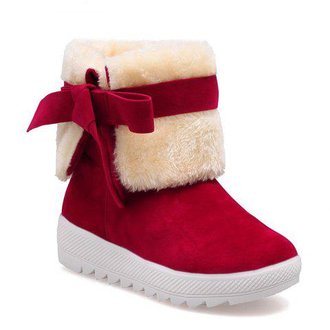 2017 Корейский зимний Новый All-Match College Wind Tube Plus Velvet Snow Boots