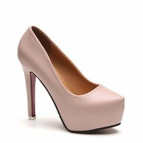 Mesdames Sexy Stiletto All-match Pointu Chaussures Club d'Occupation des femmes