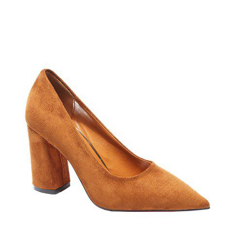 Outfits In The Autumn of 2017 New Simple All-match Pointed Set Foot Shoes