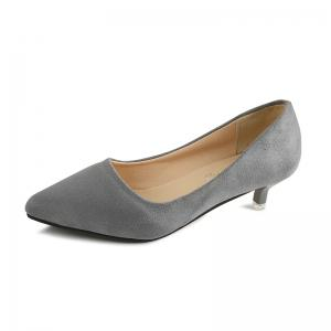 NJ-662 Pointed To The Low Light Suede Shoes Foot Sleeve -