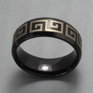 The Great Wall Ring Men Simple Fashion Jewelry -
