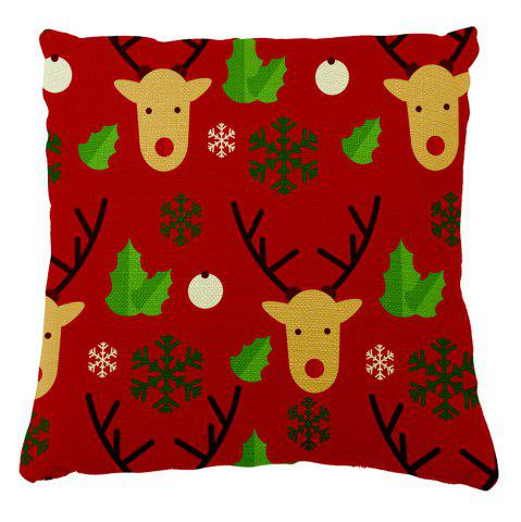 Outfit Soft Pillowcase Christmas Home Decor Elk Pillow Cover
