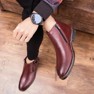 Single Pointed Martin Short Men'S Boots -