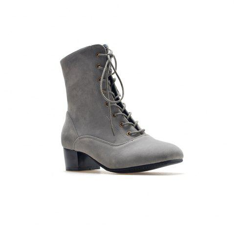 Sale Miss Shoe B05 New Style Square Head Show Thin Boots with Short Boots