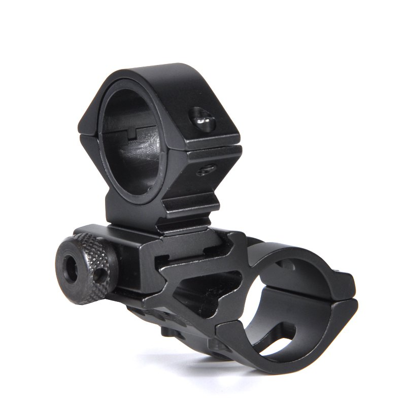 Fancy BA1391 Aluminum Flashlight Mount Holder Universal Bicycle Bike LED Light Flashlight Torch Mount Holder Cycling Clip Clam