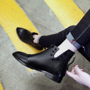 2017 New Low-Heeled Women'S Martin Boots -