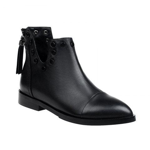 New 2017 New Low-Heeled Women'S Martin Boots