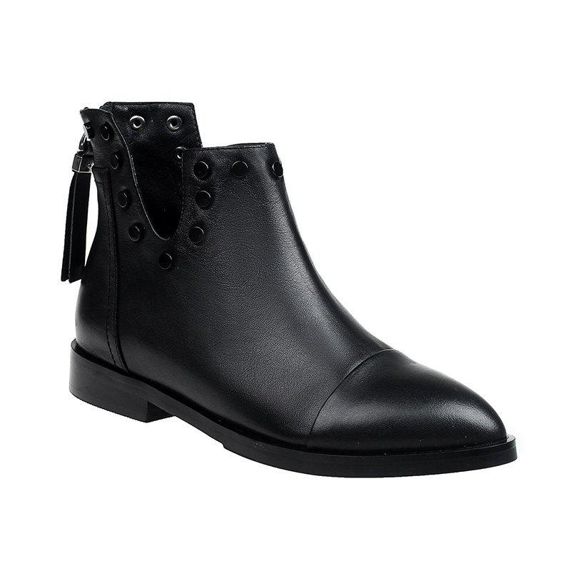 Sale 2017 New Low-Heeled Women'S Martin Boots