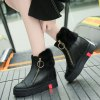 2017 New Slope with High-Top Casual Boots Female -