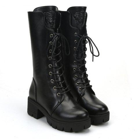Store 2017 New Thick Heel with Women'S Knight Boots