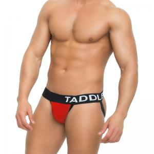 Taddle Sexy Hommes Sous-vêtements Jock Sangles Coton G Strings Thong Low Rise Jockstraps Slip Bikini Backless Fesses -