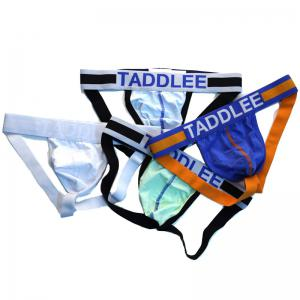 Taddlee Sexy Hommes Jockstraps Sous-vêtements Coton Briefs Bikini String G Strings Fesses Backless taille basse -