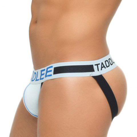Taddlee Sexy Hommes Jockstraps Sous-vêtements Coton Briefs Bikini String G Strings Fesses Backless taille basse