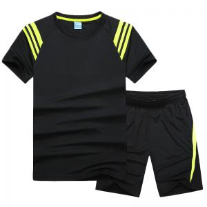 Men'S Sportswear Cotton Shorts T-Shirt Fitness Running Basketball Wear -